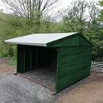 L20-forest-green-field-shelter