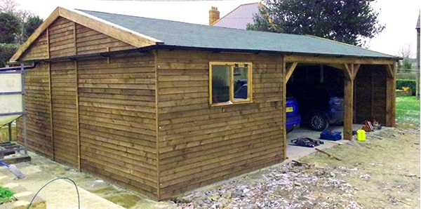 Stable manufacturers wooden horse stables for Custom garage workshop