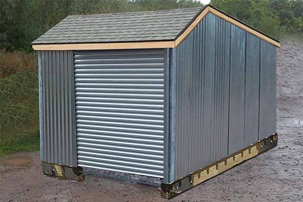 metal garden sheds steel sheds. Black Bedroom Furniture Sets. Home Design Ideas