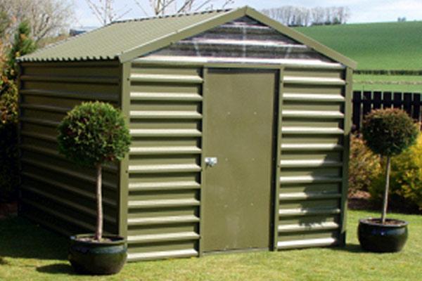 Metal garden sheds steel sheds for Garden shed builders warehouse