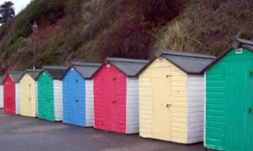 New Beach Huts