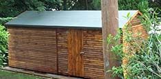 20x10 wooden workshop