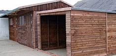 Stable With Garage