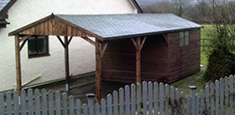 Timber carport Croydon