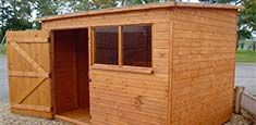 Wooden Shed Worcester