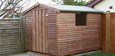 Timber Shed Devon