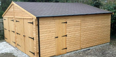 Wooden Garage Bridgwater