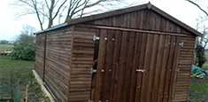 Wooden Garages Gloucester