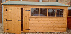 Timber storages