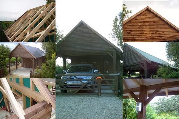 Prefabricated Timber Garage Building Manufacturer in UK 🏠