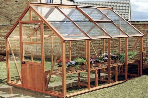 Timber Frame Greenhouses