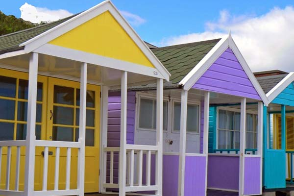 beach huts for sale