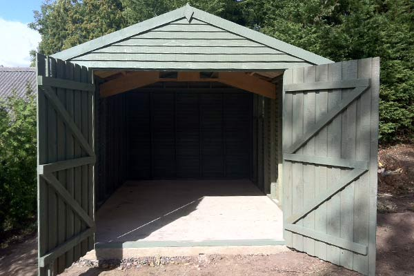 Wooden Garages Exeter