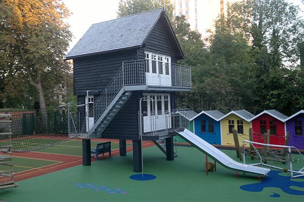 Wooden School Buildings School Sports Pavilions 🏠