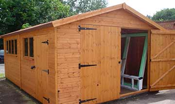 Ex-display Sheds